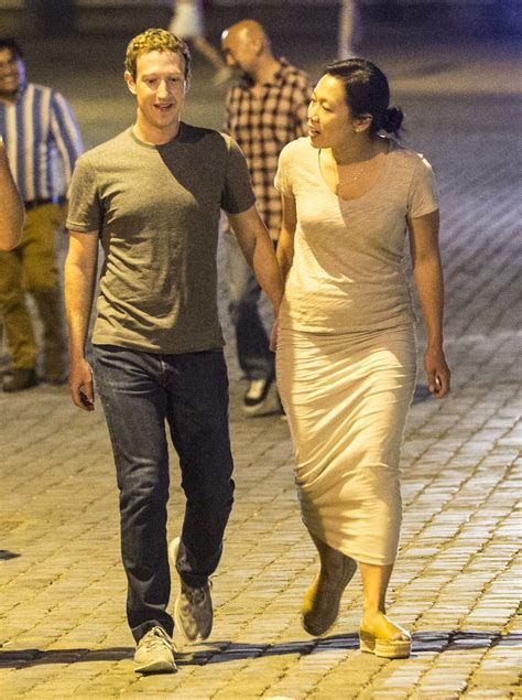 mark zuckerberg  wife enjoy late night