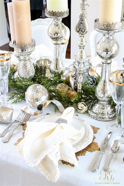 dining table decorations ideas white and gold dining room and table scape
