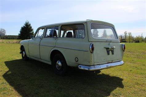 volvo   amazon wagon estate classic volvo