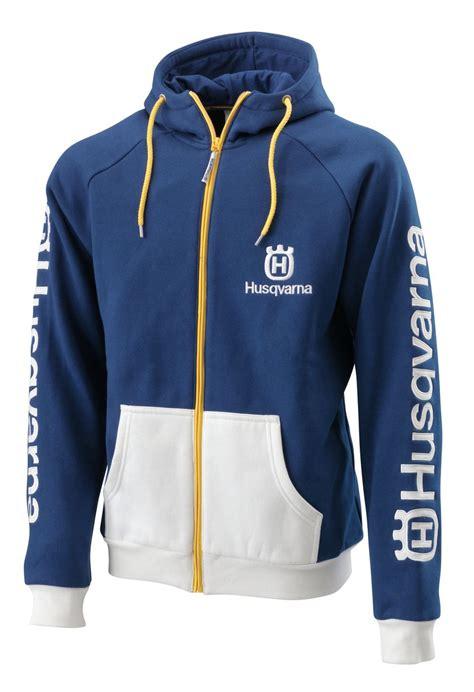 aomcmx  husqvarna team zip front hoodie