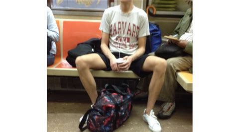 Nyc Takes Man Spread Other Rude Subway Habits
