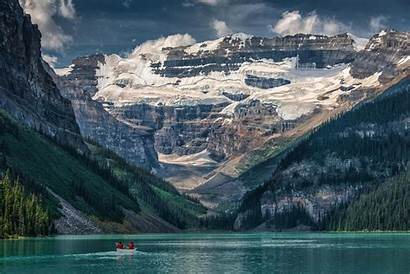 Canada Louise Lake Wallpapers Desktop Background Backgrounds