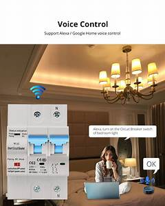 Zemismart Wifi Relay Tuya Smart Life App Control Smart