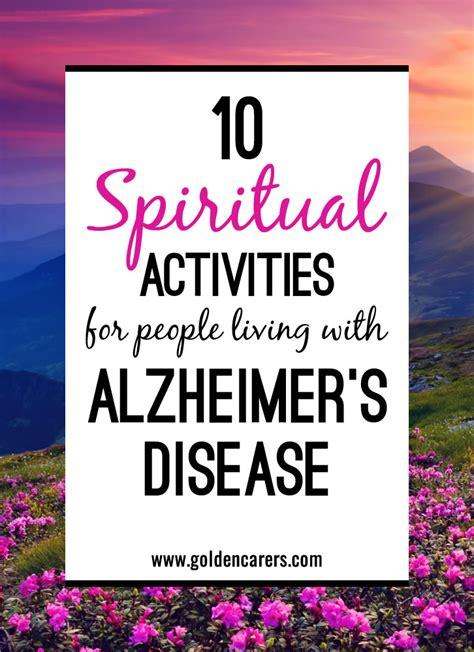 spiritual activities  people  alzheimers disease