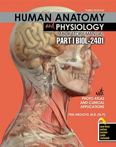 Human Anatomy And Physiology Laboratory Manual With Photo
