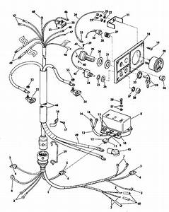 Evinrude Instruments And Cable Group Electric Shift Parts