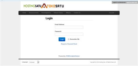 cara login cpanel via member area panduan website dan