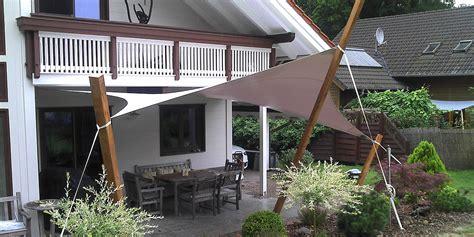 sonnensegel mit pfosten sonnensegel und regensegel kaufen sauna wellness kontor