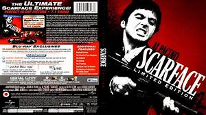 scarface blu ray limited edition cover movies With freecovers