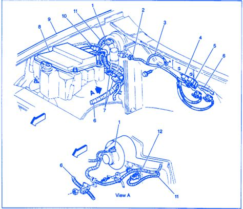 gmc sonoma  electrical circuit wiring diagram carfusebox