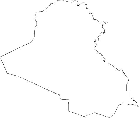 Blank Outline Maps White Gold