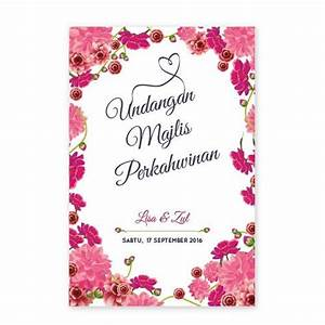 59 best images about kad kahwin floral on pinterest With wedding invitation cards kuala lumpur