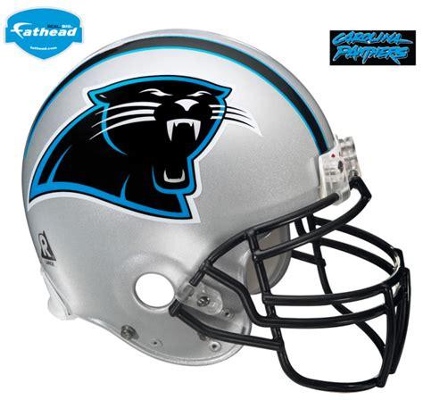 carolina panthers helmet fathead nfl wall graphic