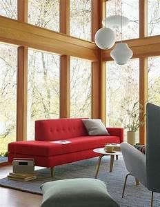 Grauer Sessel : rotes sofa 80 fantastische modelle ~ Pilothousefishingboats.com Haus und Dekorationen