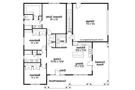 floor plans homes prairie style house plans sahalie 30 768 associated designs