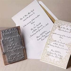 Personalised wedding invitation rubber stamp by the for Stamps com wedding invitations