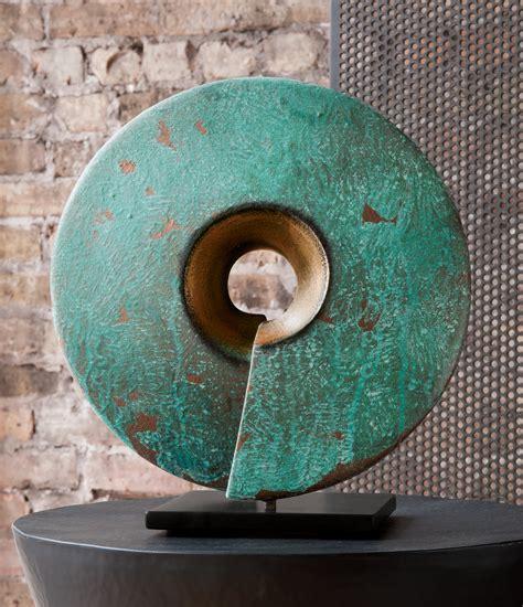verde coil  cheryl williams ceramic sculpture artful