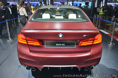 2018 Bmw M5 Launched In India At Inr 144 Crore