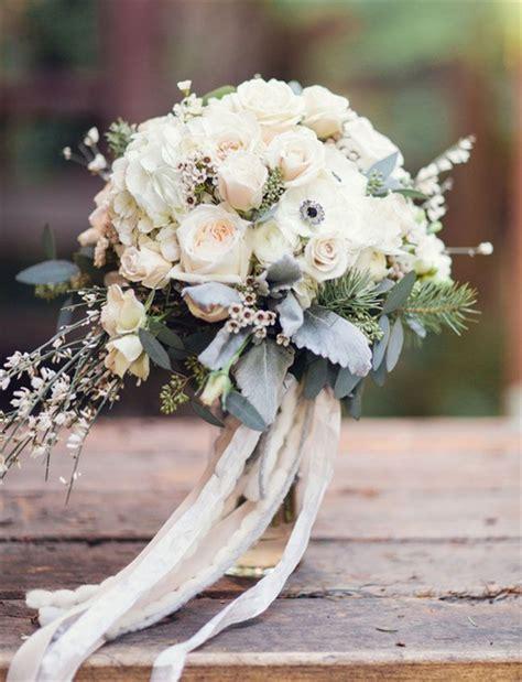 amazing winter wedding bouquets youll love deer