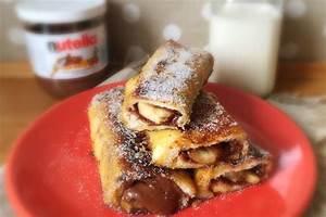 Pain Perdu Au Nutella : recette de pain perdu nutella banane la recette facile ~ Dode.kayakingforconservation.com Idées de Décoration