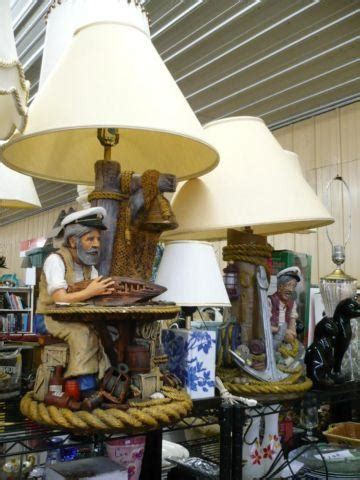 vintage nautical themed table lamps aspit brothers sea