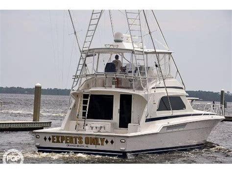 Used Boats For Sale Orange Beach Al by 2000 Bertram 60 Fishing Boat For Sale In Orange Beach Al