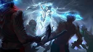 The Leap - Kaladin Fanart - Stormlight Archive