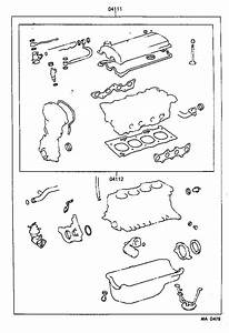 Toyota Paseo Engine Gasket Set  Gasket Kit  Engine