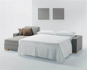 Lit Moderne Design : le canap lit design est joli et intelligent ~ Nature-et-papiers.com Idées de Décoration
