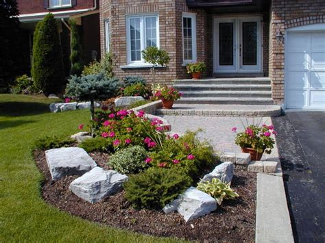 Modern Or Rustic Front Landscape Design? - Safe Home