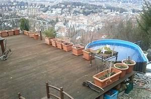 Terrasse Am Hang : streit mit der baurechtsbeh rde die terrasse und der pool ~ Lizthompson.info Haus und Dekorationen