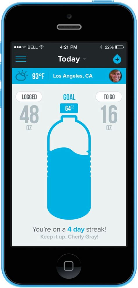 iphone tracker app water tracking app iphone