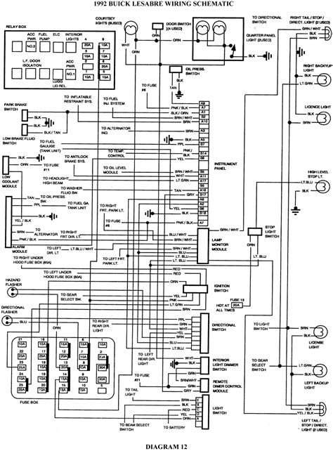 1989 Buick Lesabre Stereo Wiring Diagram by Repair Guides Wiring Diagrams Wiring Diagrams