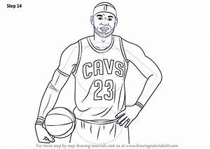 Learn How To Draw Lebron James Celebrities Step By Step