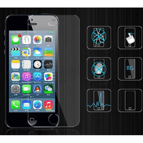 glass screen protector iphone 5s 0 3mm thick thickness tempered glass screen protector