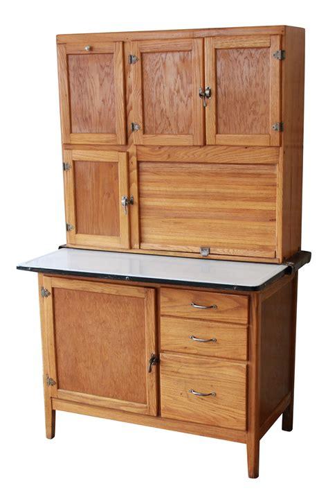 vintage hoosier kitchen cabinets antique oak hoosier cabinet chairish 6810