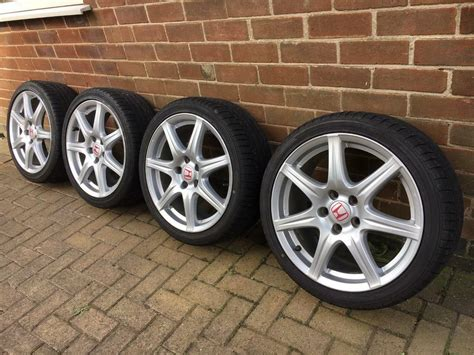 Honda Civic Type R Fn2 18 Inch Alloy Wheels & Tyres