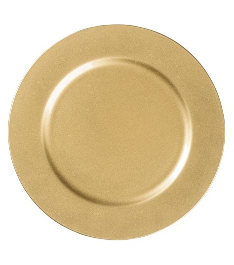 13'' Gold Charger Plate At Joanncom