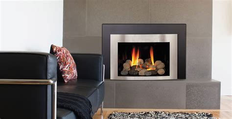 Enchanting Modern Gas Fireplace for a Living Room
