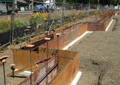 foam concrete forms for retaining walls walsh construction co placing a concrete foundation on