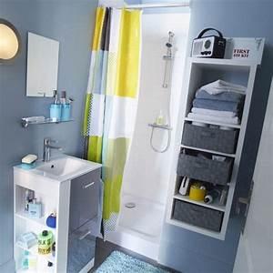 Meuble Pour Petite Salle De Bain : le bon mobilier pour une petite salle de bains ~ Dailycaller-alerts.com Idées de Décoration