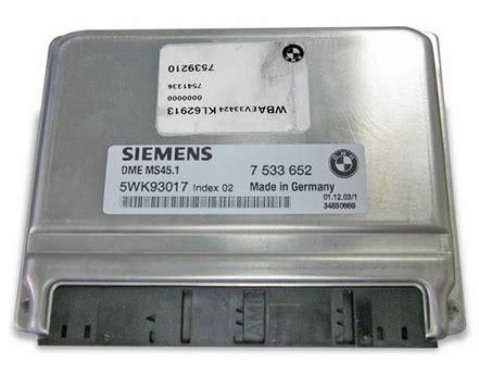 bmw 325 e46 ecu dme siemens ms45 1 m54 and m56 engines specialized ecu repair