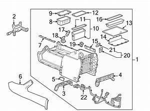 Chevrolet Silverado 1500 Console Wiring Harness  Front