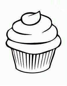 Drawn cupcake candle drawing - Pencil and in color drawn ...