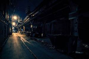 Dark, City, Alley, Stock, Photo, -, Download, Image, Now