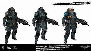 Awesome BATMAN: ARKHAM ORIGINS Character Designs For Bane ...