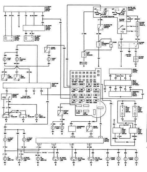 2000 S10 Dash Wiring Diagram by Repair Guides Wiring Diagrams Wiring Diagrams