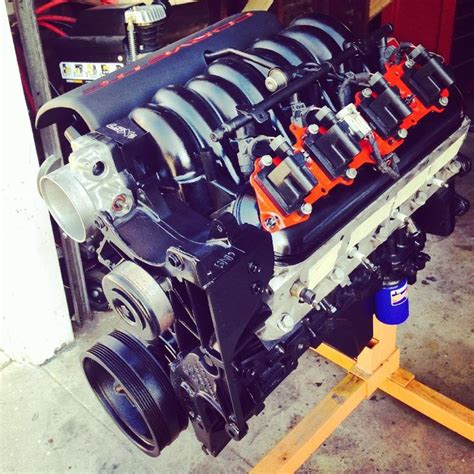 My 5.3L Build Ls1 Intake With Truck Accessories ...