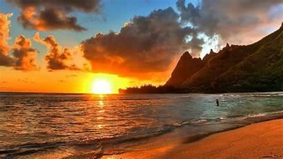 Hawaii Sunset Caravan Lostinsound Wallpapertag Macbook
