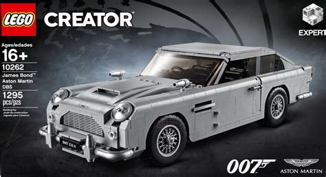 lego aston martin db5 007 s aston martin db5 is now an official lego set with an